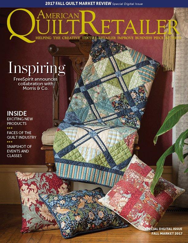 Free Quilt Market Recap Issue of American Quilt Retailer