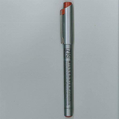 Zig Pen - Brown 01