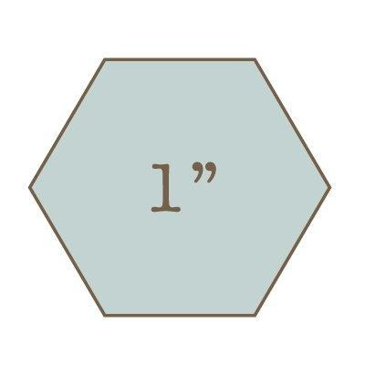 1 Hexagon Template Imprezzio