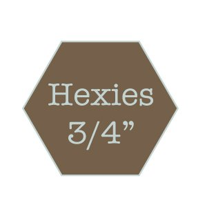 Hexies 3/4 water soluble