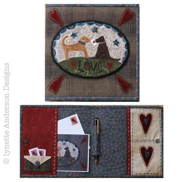 Love Notes Punchneedle - pattern