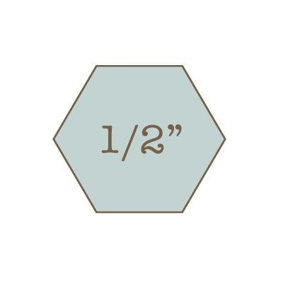 1/2 Hexagon Papers Imprezzio