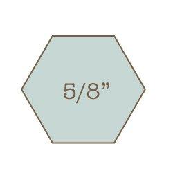 5 8 hexagon papers with template imprezzio