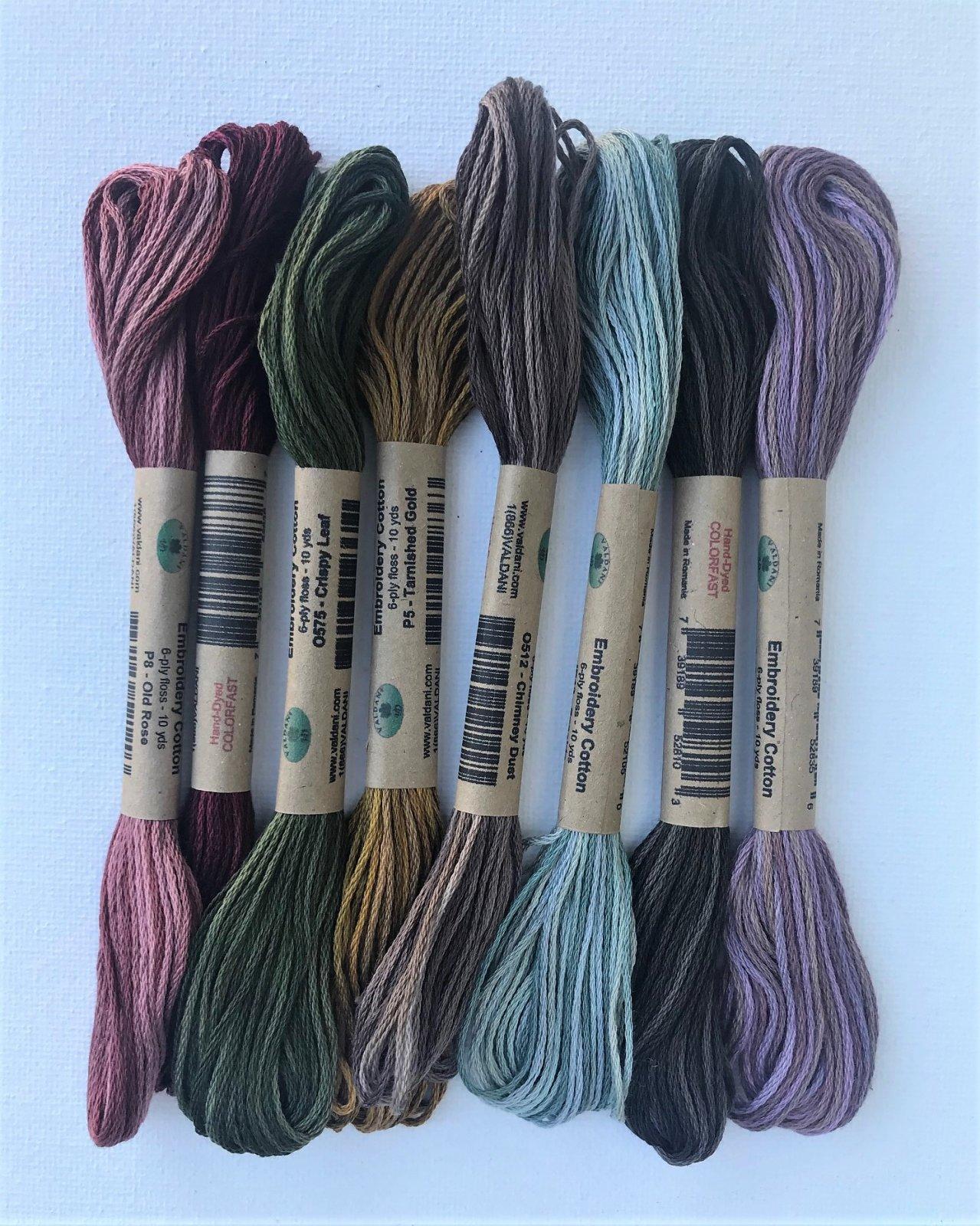 Bless our Home Drawstring Bag - Valdani thread pack