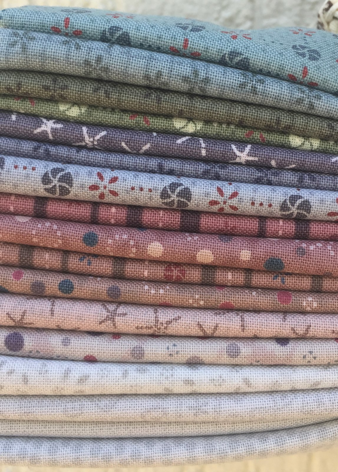 Chateau Hexagon Fabric Bundle