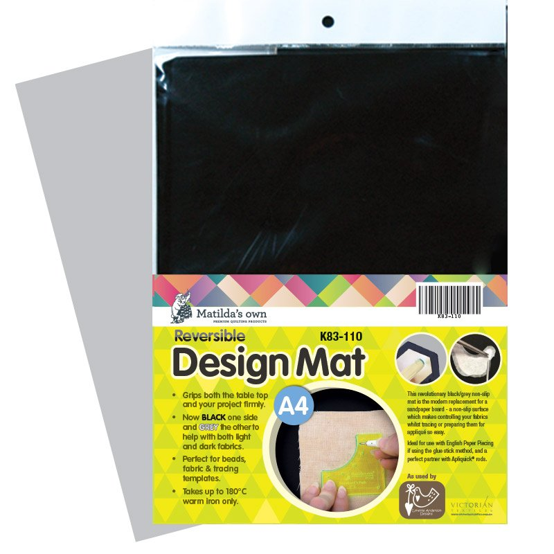 Design Mat - black non slip