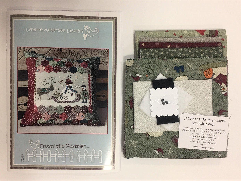 Frosty the Postman Pillow kit
