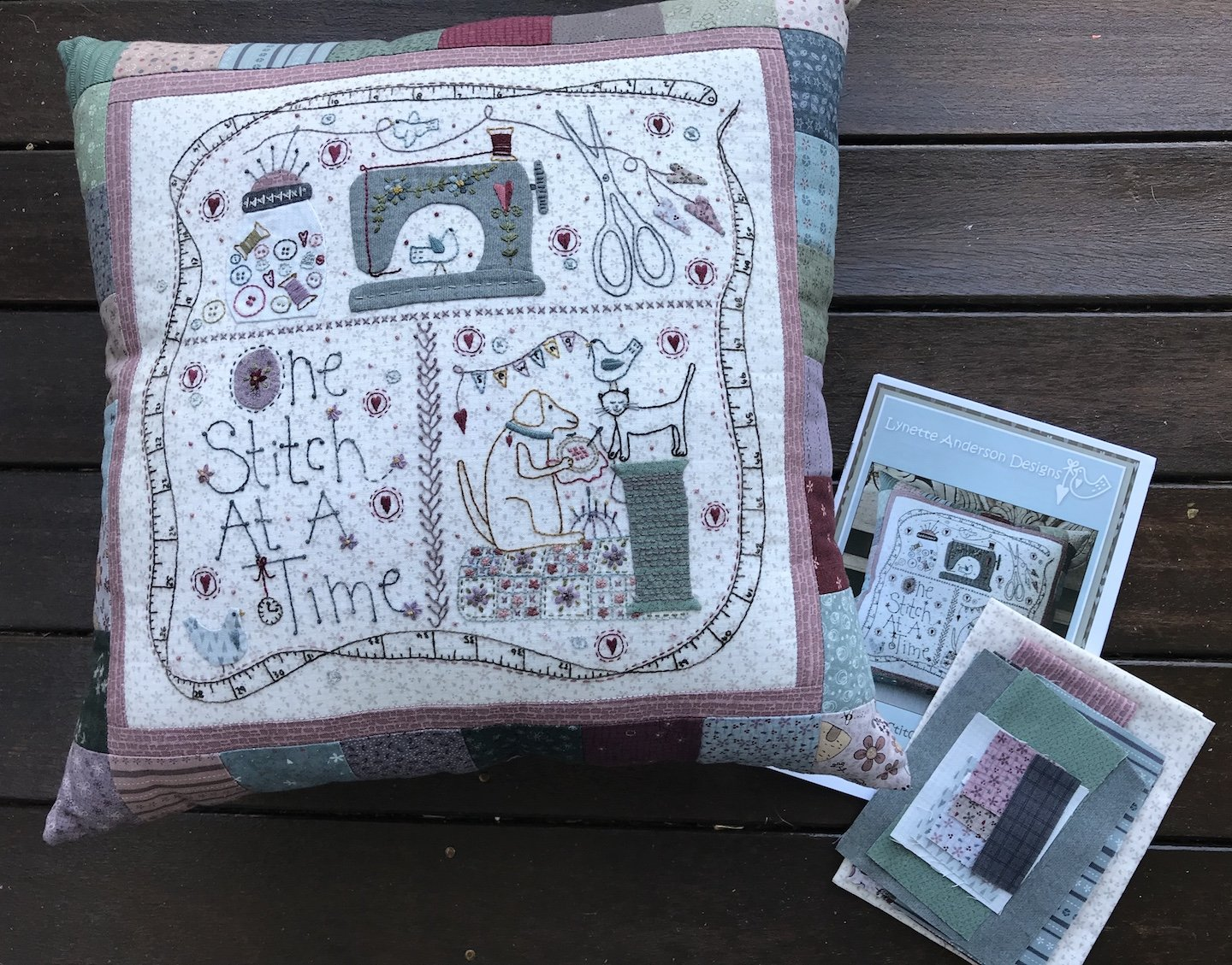 One Stitch at a Time Pillow Kit