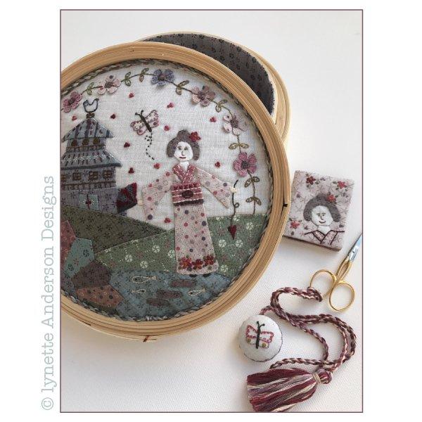 Konnichiwa Sewing Basket - pattern