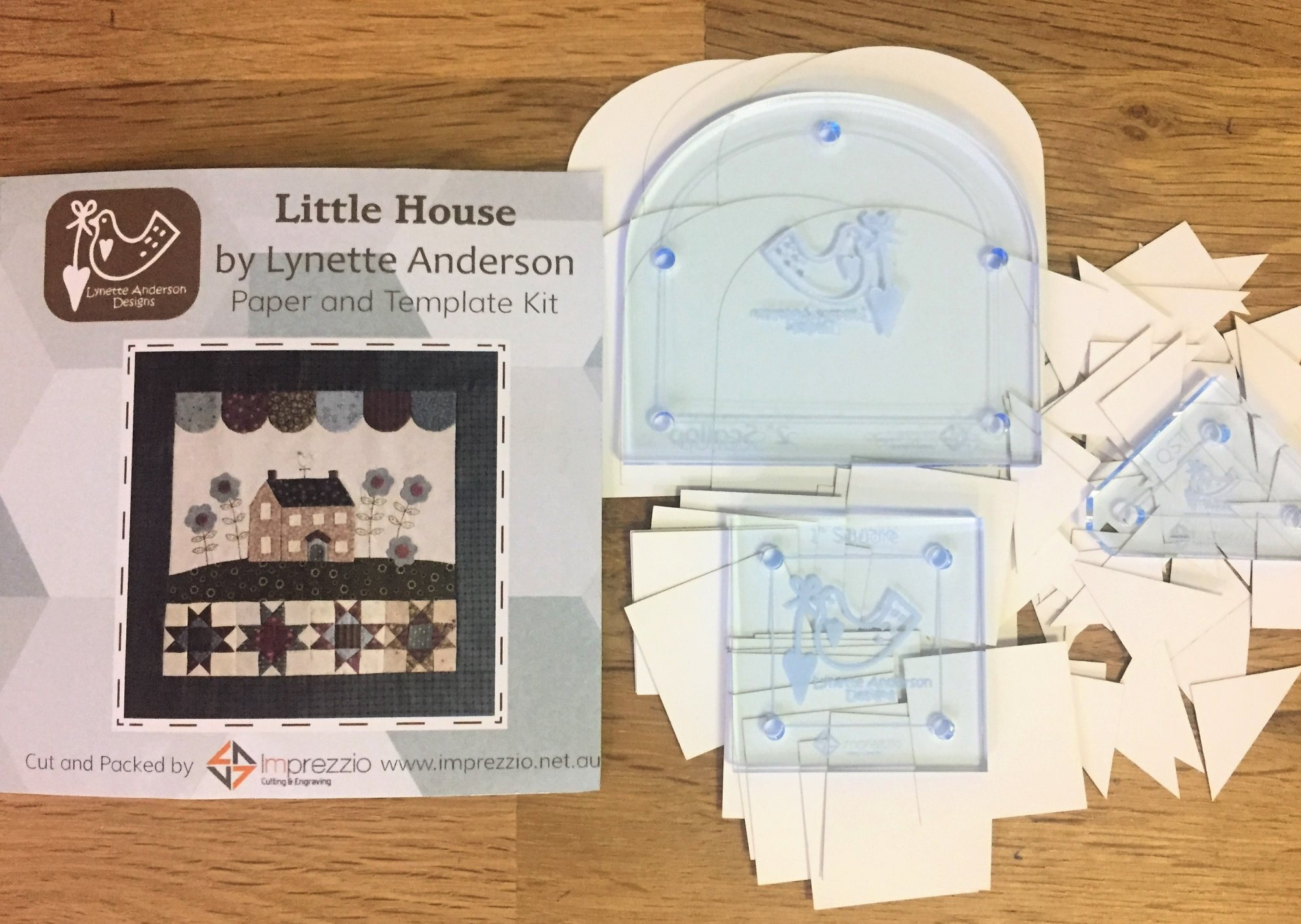 Little House Block Book Paper Pieces and Template Pack
