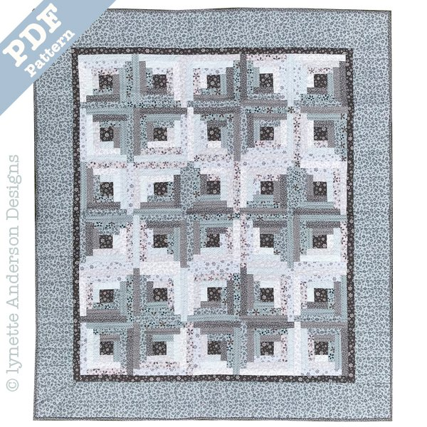 Manor House Steps - downloadable pattern