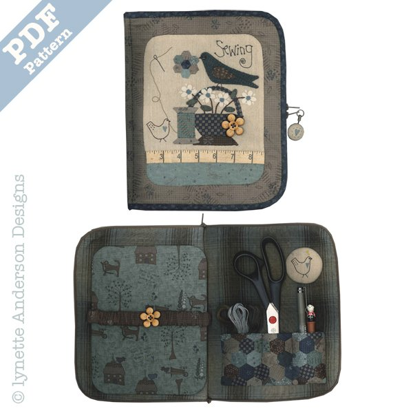 Sewing Accessory Case - downloadable pattern