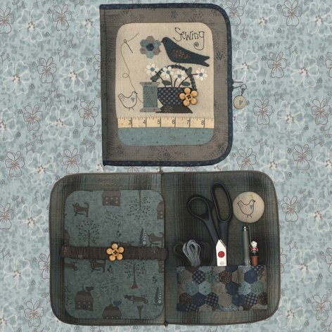 Sewing Accessory Case - pattern