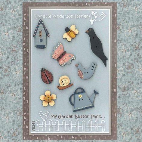 Garden Scenes - My Garden Button Pack