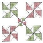 Embroidery Blocks - Pinwheel