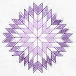 Embroidery Blocks - Lone Star Quilt Blocks