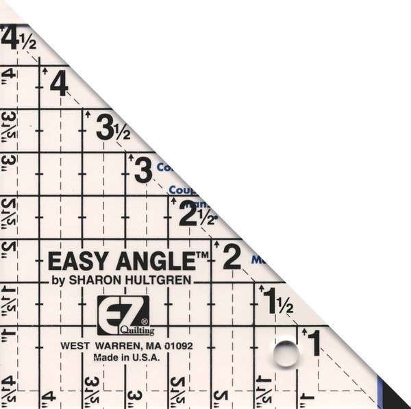 Easy Angle Ruler - 4.5 inch
