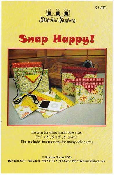 Snap Happy!-Bag patterns