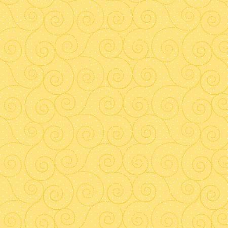 Basically Hugs - Yellow Scrolls