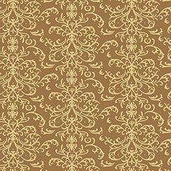 A Golden Holiday - gold print