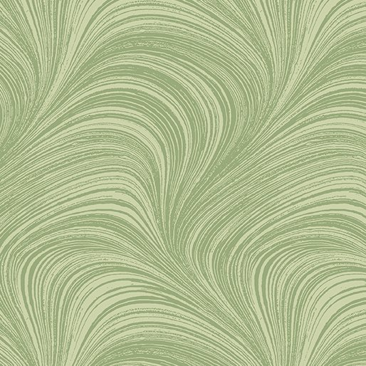 A Wildflowr Meadow - Wave Texture - Green