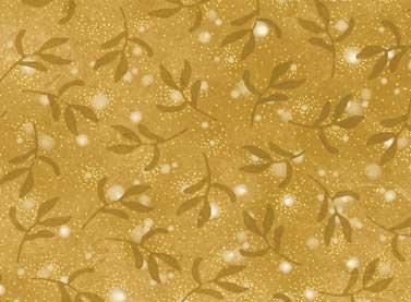 Christmas Bells - gold print