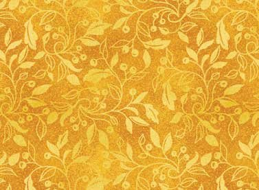Autumn Song - gold print