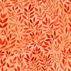 Floral Menagerie - Coral Leaves