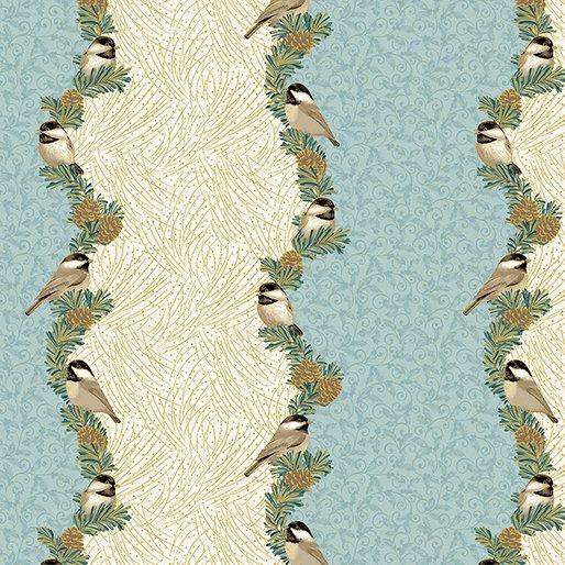 My Little Chickadee - Border print