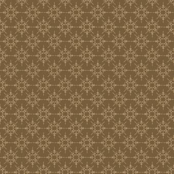 Home for the Holidays - brown diamond print