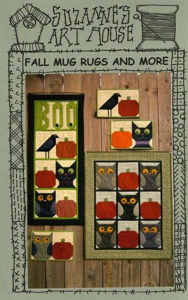 Fall Mug Rugs and More