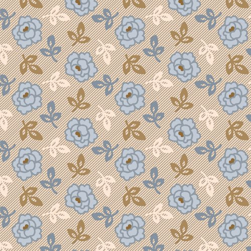 Chateau Chambray - overall print