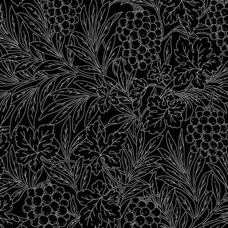 Bare Essentials - Black grape vines