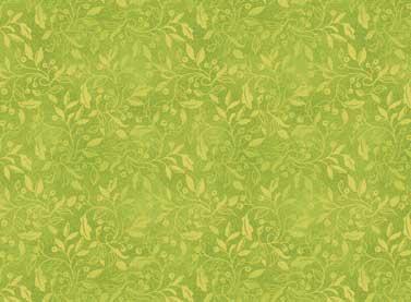 Autumn Song - green print