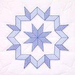 Embroidery Blocks - Interlocking Kaleidoscope Star