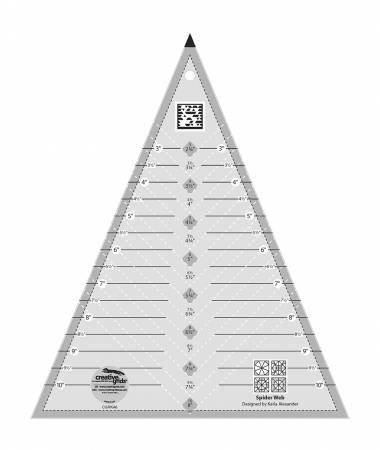 Creative Grids - Spider web Ruler