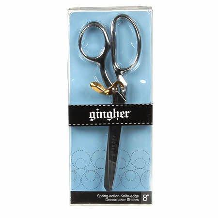 Gingher Spring-action Knife-edge Dressmaker Shears