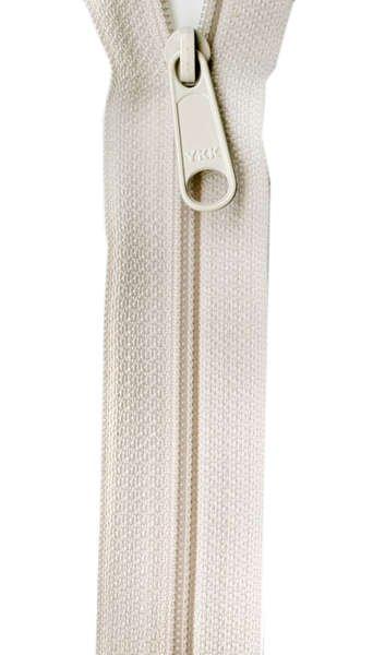 Handbag Zipper - 24 inch - ivory