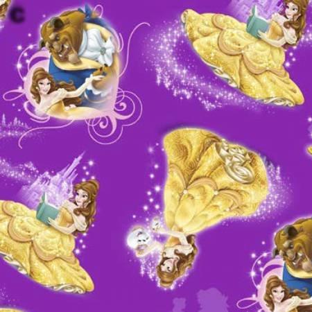 Belle Character Toss - purple