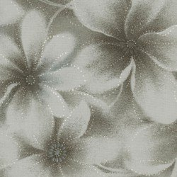 Serenity - light taupe floral tonal
