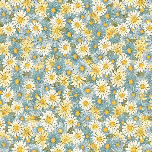 My Secret Garden - Daisies - Blue