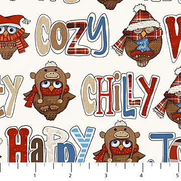 Cutie Hooties -owls and words