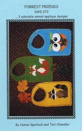 Forest Friends - baby bibs