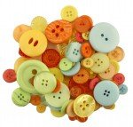 Button Grab Bag - Citrus Colors