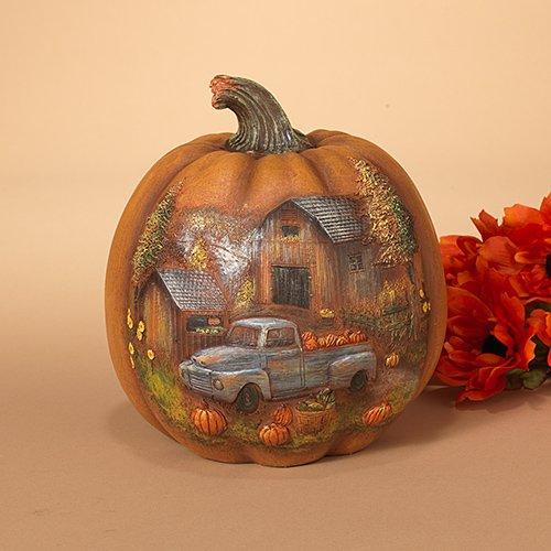 Harvest Pumpkin - Pumpkin with Truck