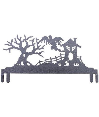 Ackfled Wire Header - Haunted House  - Charcoal