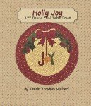 Holly Joy - 17 in round mini table mat