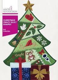 Christmas Crazy Quilt Shapes