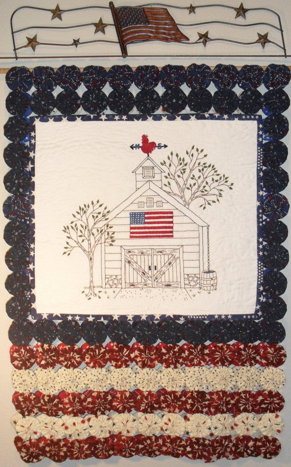 Liberty Barn - Hand Embroidery