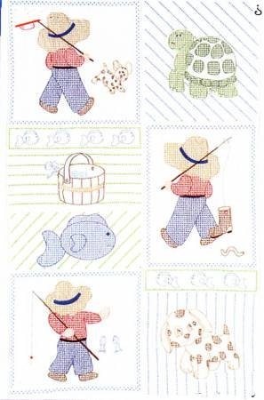 Embroidery Blocks - Little Boys